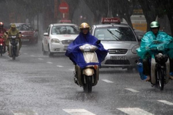 Dự báo thời tiết 26/4: Hà Nội chiều tối có mưa rào