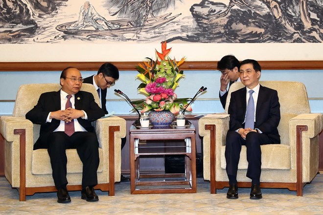 PM: Vietnam attaches importance to developing relations with China