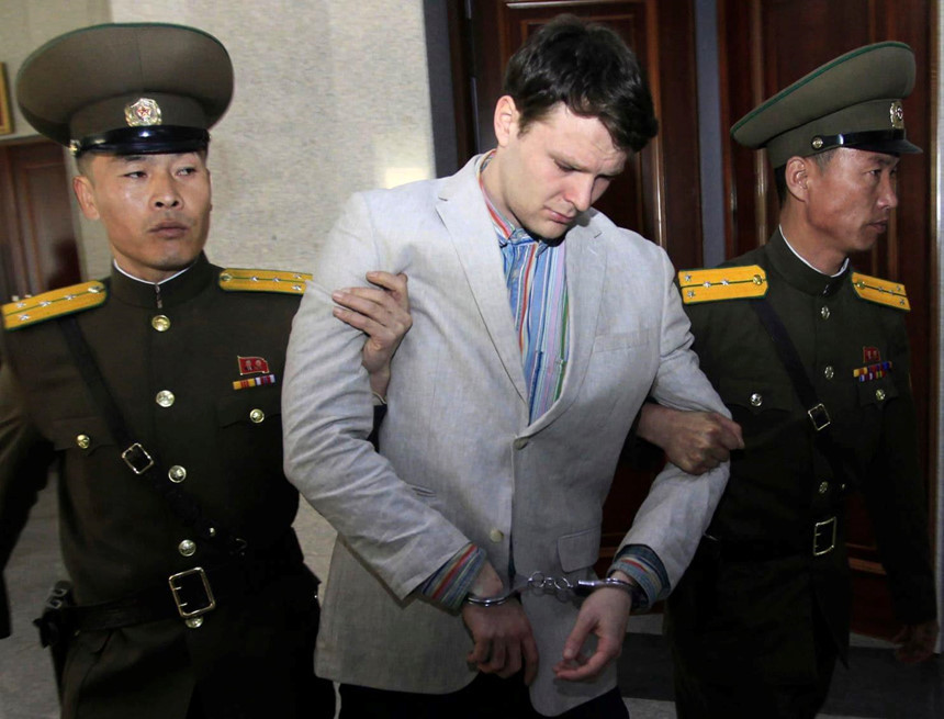 Triều Tiên đòi Mỹ trả viện phí 2 triệu USD?