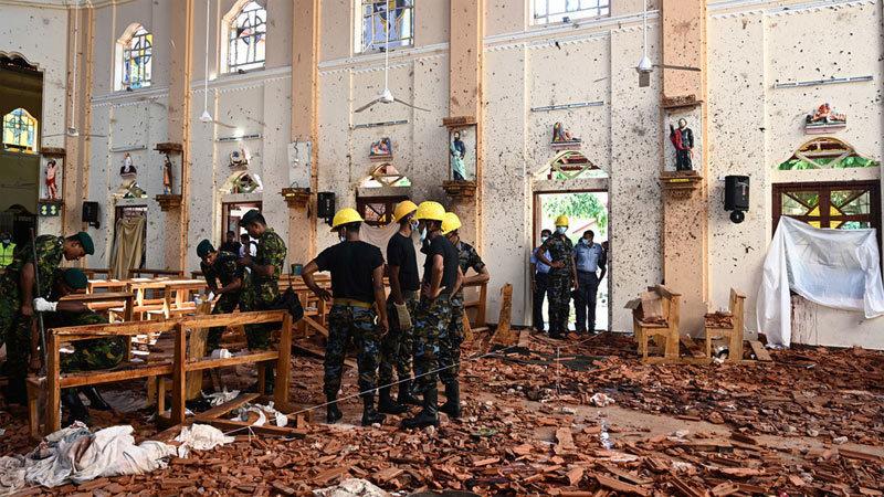 Sri Lanka đột ngột sửa số người chết vì khủng bố