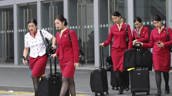Nữ tiếp viên hàng không ăn trộm đồ giấu chật kín cả tủ lạnh