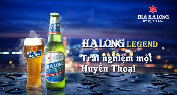 Ra mắt sản phẩm mới: Bia Hạ Long Legend