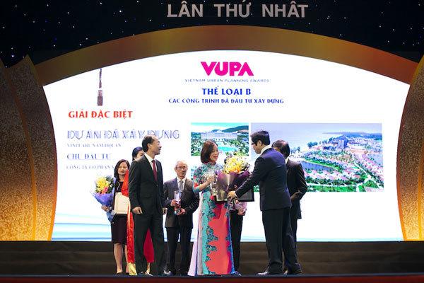 Vingroup lập hattrick ở Giải thưởng Quy hoạch Đô thị Quốc gia