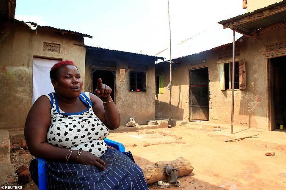 mẹ bỉm sữa,bà mẹ châu Phi,con đàn
