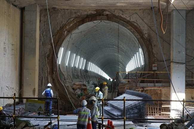 HCMC'S first metro line unaffected by falling groundwater