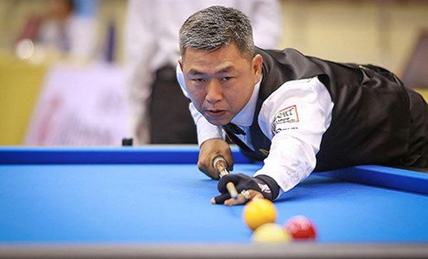 Vietnamese cueist Nai eliminated at Asian Carom Champ