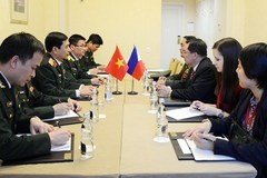 Army's general staff chief meets Russian, Philippine officers in Moscow