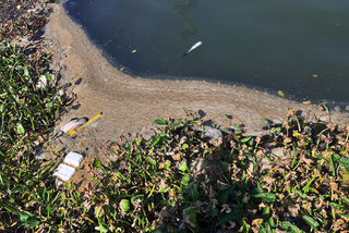 Discharged waste continues to mar Han River