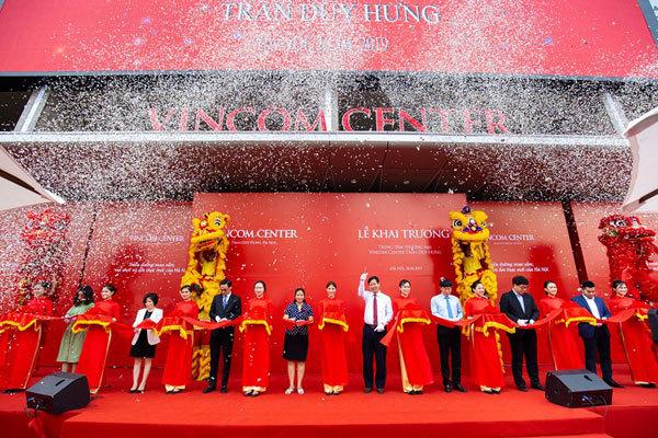 Khai trương Vincom thứ 10 ở Hà Nội