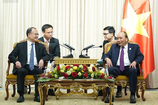 Thủ tướng,Nguyễn Xuân Phúc,Trung Quốc