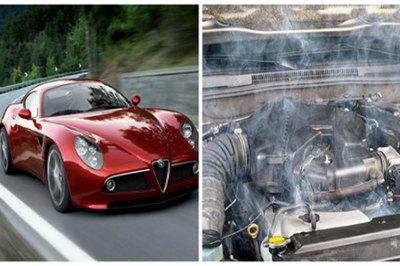 Có thể 'mất mạng' nếu bỏ qua dấu hiệu động cơ ô tô nóng khi đang chạy