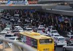 Phân luồng ô tô đón, trả khách trong sân bay Tân Sơn Nhất