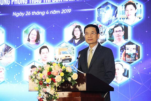 Toàn văn phát biểu của Bộ trưởng Nguyễn Mạnh Hùng tại lễ tôn vinh NLĐ tiêu biểu ngành TT&TT