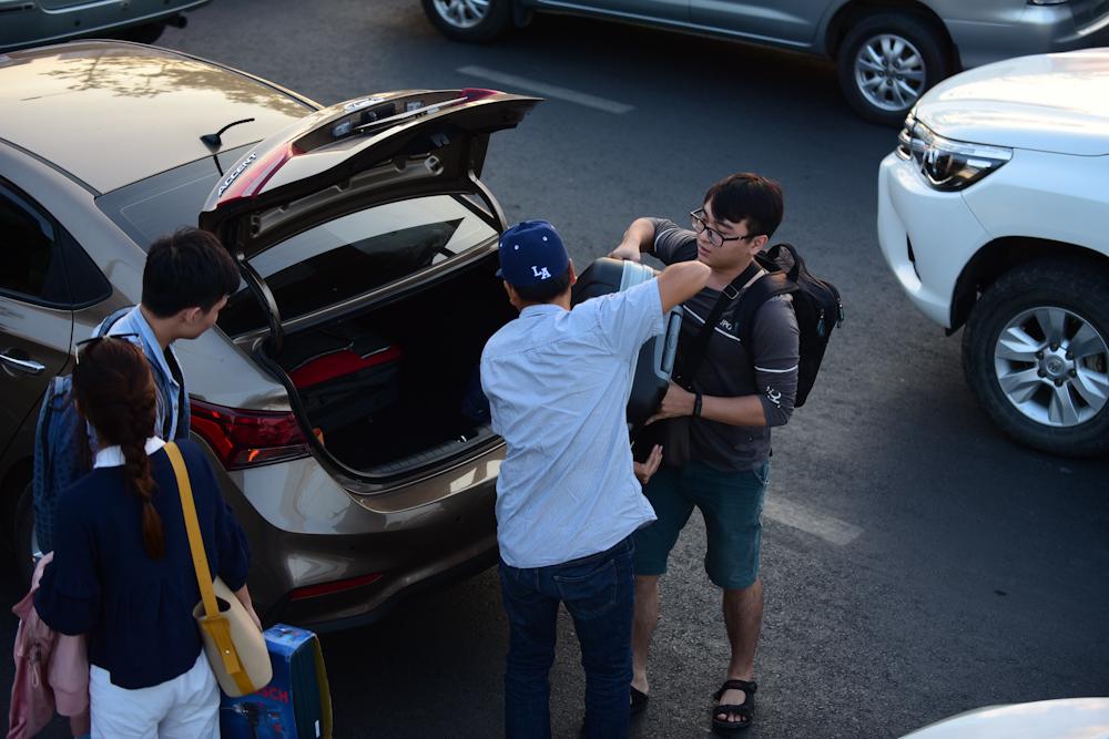kẹt xe,Sài Gòn,nghỉ lễ
