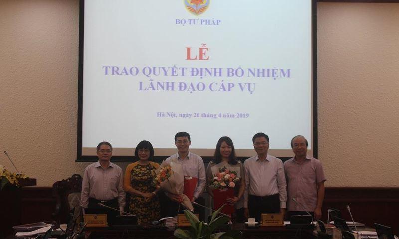 Bà Trần Thị Phương Hoa làm Phó tổng cục trưởng Tổng cục Thi hành án dân sự
