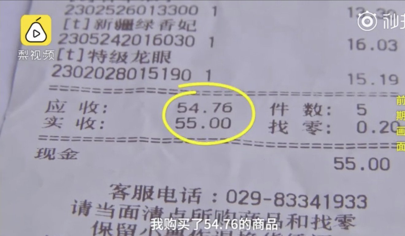 Quyết tâm kiện cả siêu thị ra tòa vì trả thiếu… 130 đồng