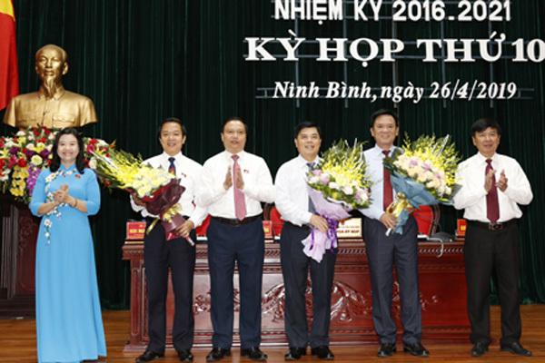 Ninh Bình có Phó chủ tịch tỉnh mới