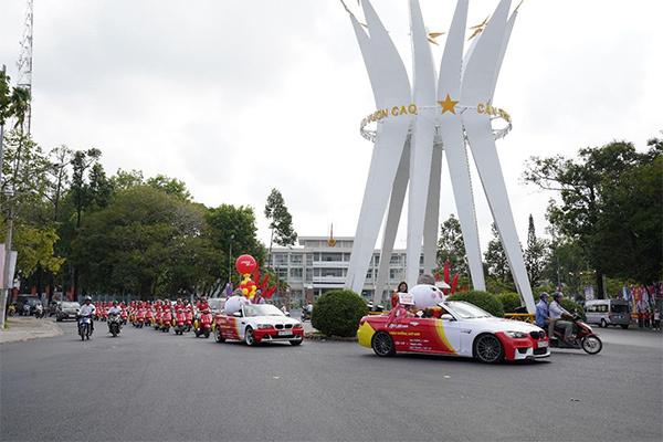 Vietjet rực rỡ chào 5 đường bay mới tại Cần Thơ