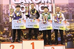Vietnam's top cueist beats world prodigy to claim Asian three-cushion carom title