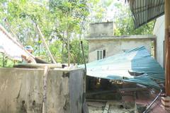 Lốc xoáy ở Thanh Hóa, mẹ chết, con 7 tháng bị thương