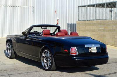 Rolls-Royce Phantom Drophead Coupe 2008 bán đấu giá chỉ 3,1 tỷ