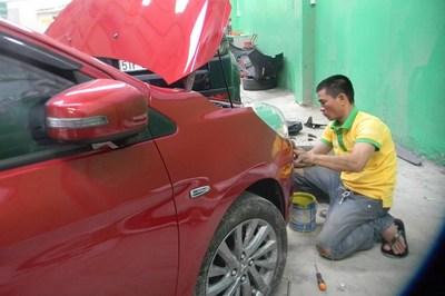 Làm gì để súc rửa ô tô đúng chuẩn?