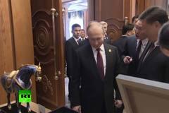 Ông Tập Cận Bình tặng 'ngựa huyền thoại' cho Tổng thống Putin