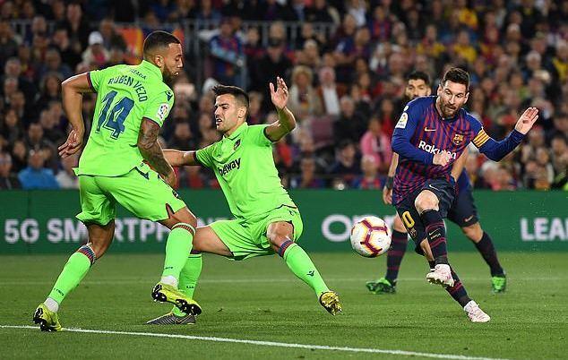 Barca,Levante,Messi