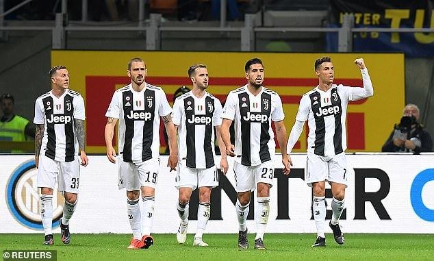 Inter Milan,Juventus,Ronaldo