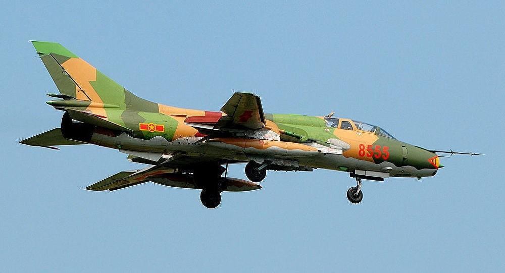Su-22,rơi máy bay,tai nạn máy bay,không quân Việt Nam