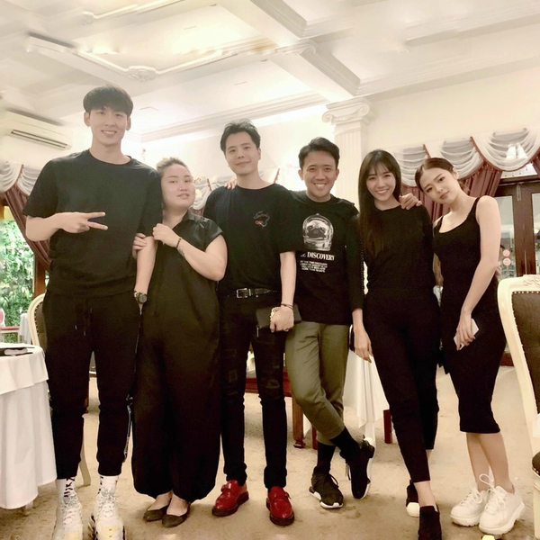 Trịnh Thăng Bình,Liz Kim Cương,Trấn Thành,Hồ Ngọc Hà