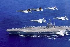Máy bay Iran áp sát, ghi hình cả hạt bụi trên tàu sân bay Mỹ