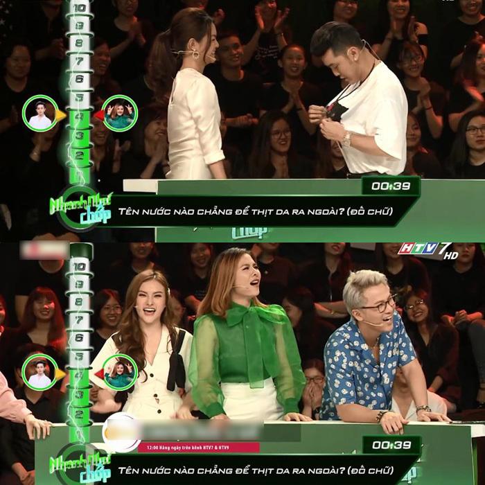 Vân Trang bị chỉ trích vì nhắc bài lộ liễu, làm lố tại 'Nhanh như chớp'