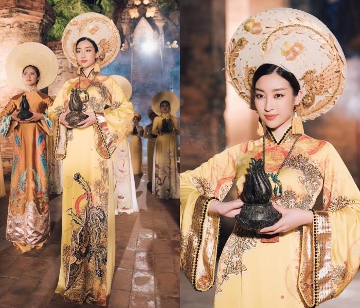 Vũ Ngọc Anh mặc đầm xuyên thấu táo bạo khoe trọn đường cong và lưng trần