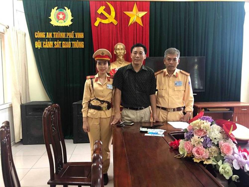 Nghệ An,cảnh sát giao thông