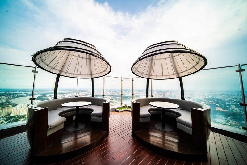 Khai trương khách sạn và đài quan sát cao nhất ĐNÁ tại TP.HCM