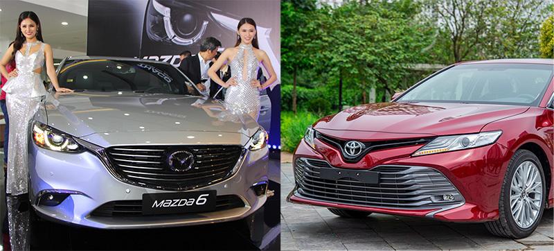 Xoay quanh 1 tỷ đồng, chọn Toyota Camry Thái hay Mazda6 lắp ráp?
