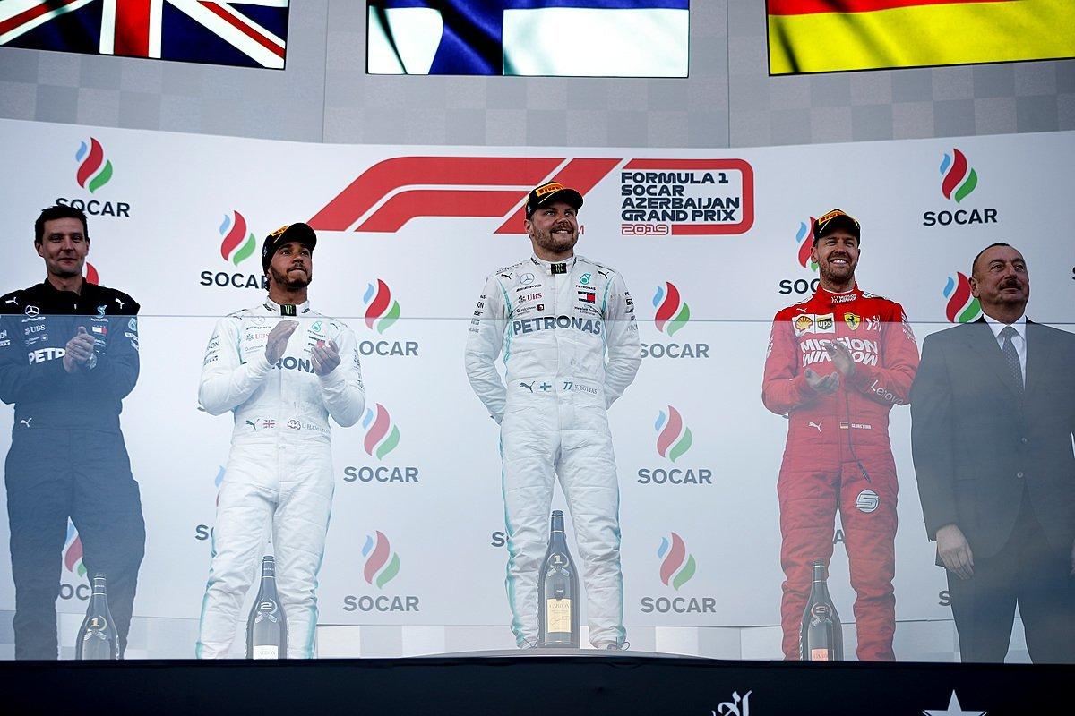Valtteri Bottas,Lewis Hamilton,F1,Đua xe công thức 1,Formula 1,Azerbaijan Grand Prix,Mercedes