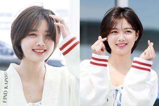 'Sao nhí' Kim Yoo Jung lột xác với tóc ngắn gây chú ý cả sân bay