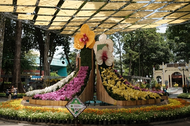 Photo essay: HCM City Orchid Festival officially kicks off