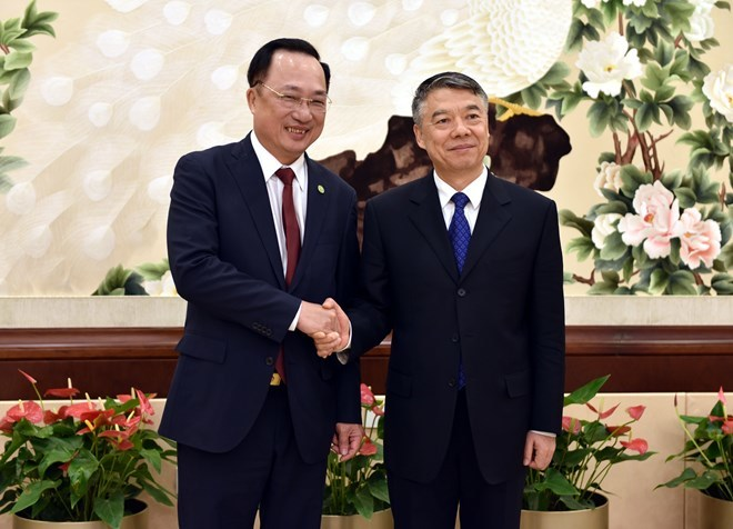 Vietnamese, Chinese public security bodies boost cooperation