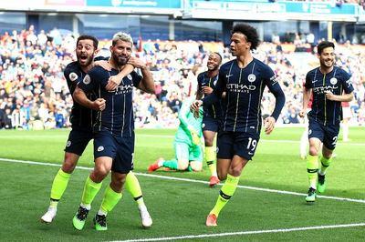 Aguero đưa Man City trở lại ngôi đầu