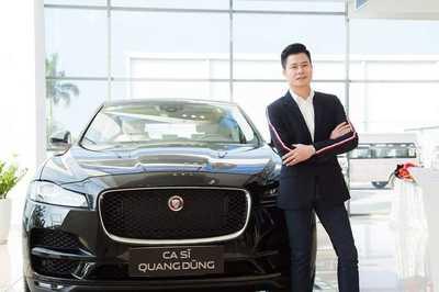 Ca sĩ Quang Dũng tậu SUV sang 4 tỷ
