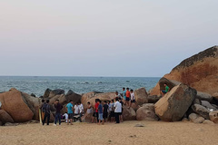 Tắm ở bãi biển tự phát, người đàn ông Hà Tĩnh chết đuối