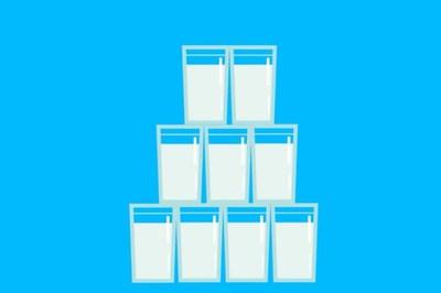 Sẽ ra sao nếu chúng ta uống sữa thay nước lọc hàng ngày?