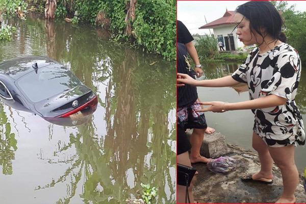 tai nạn,đạp nhầm chân ga,nữ tài xế