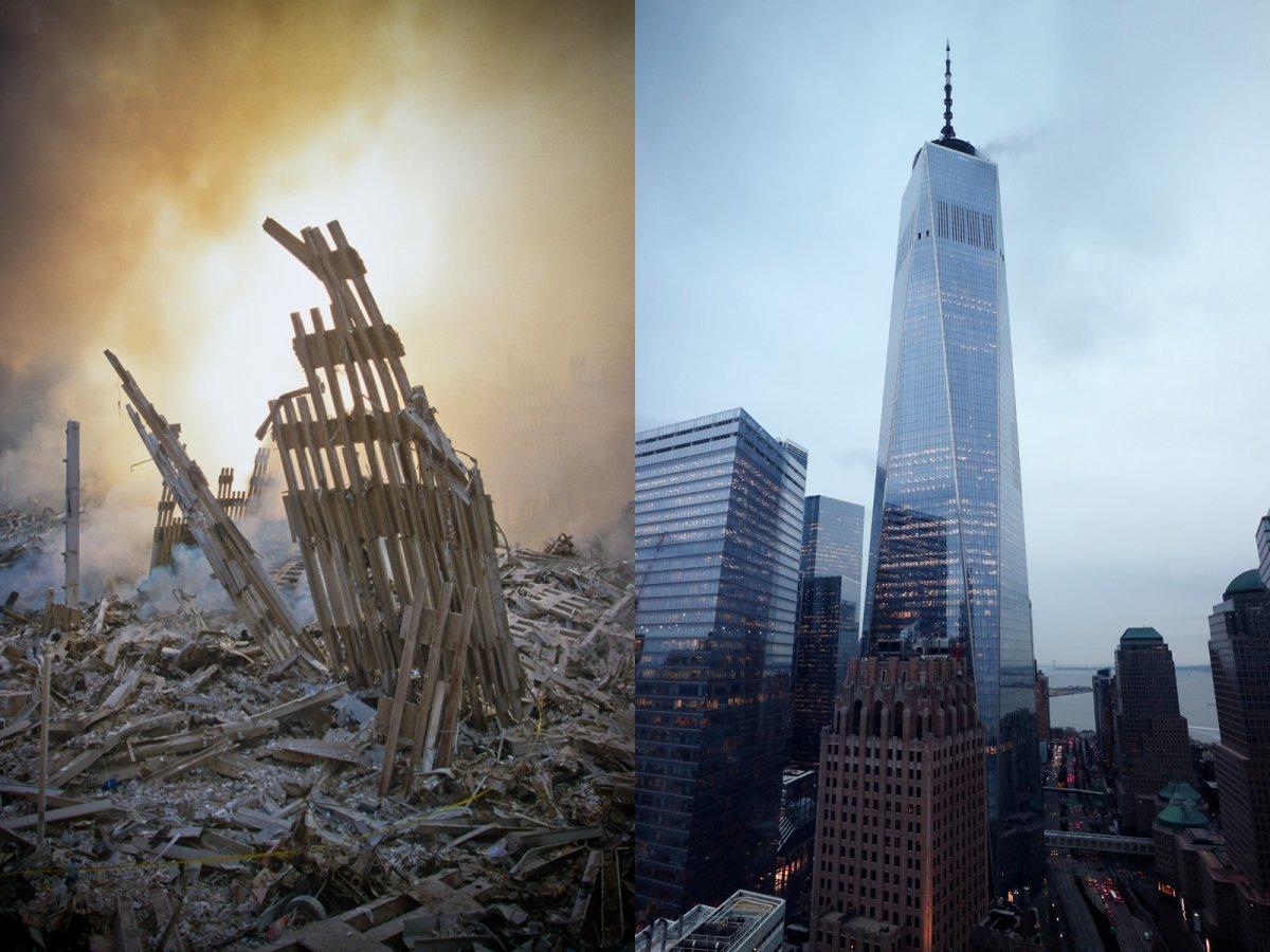 Kinh ngạc những công trình hồi sinh từ đống tro tàn