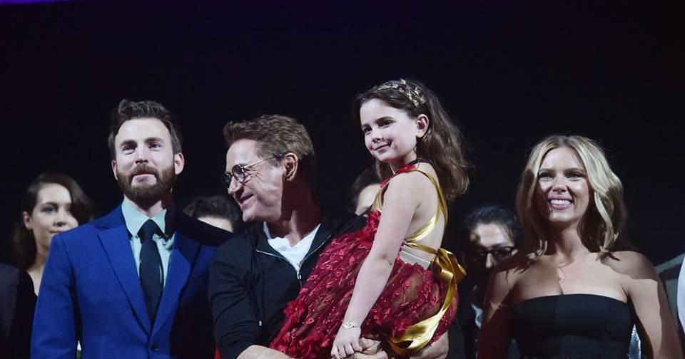 Diễn viên nhỏ nhất 'Avengers: Endgame' khiến fan phát cuồng vì quá xinh
