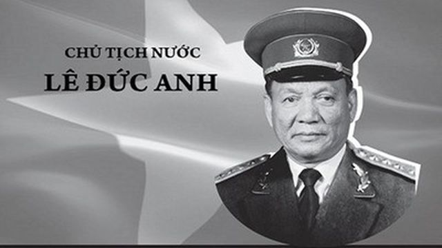 Vietnam party chief in charge of former President Le Duc Anh's funeral
