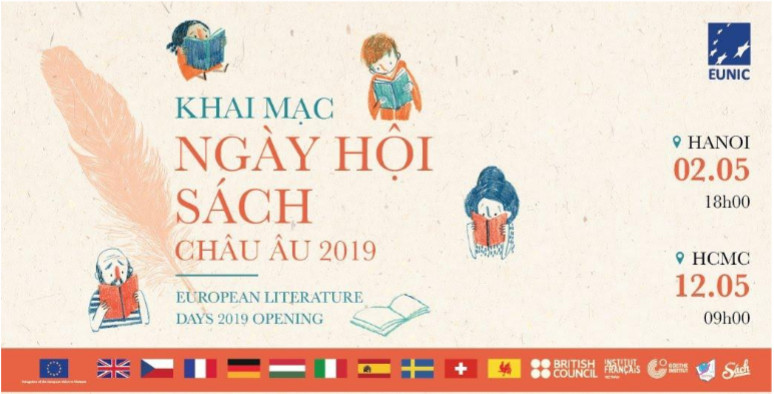 Vietnam's three largest cities to host European Literature Days 2019